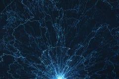 Elektromagnetisches Feld Lizenzfreie Stockfotos