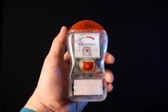 Elektromagnetisches Feld-Detektor stockbild