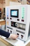 Elektromateriaal van complex onderwijslaboratorium Royalty-vrije Stock Foto