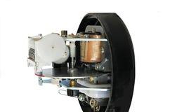 Elektromechanische elektriciteitsmeter Stock Fotografie