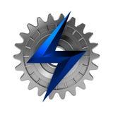 Elektromechanische Ikone Lizenzfreies Stockfoto