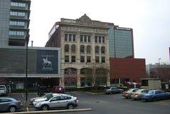 Elektron byggnad, Fort Wayne, Indiana arkivbild