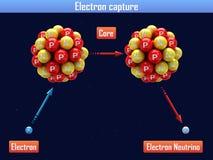 Elektroneneinfang Stockfotografie