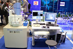 Elektronenmicroscoop van het aftasten jsm-6510 Royalty-vrije Stock Foto's