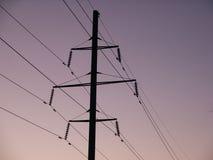 Elektronetz Lizenzfreie Stockbilder