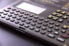 Elektroniczna agendy klawiatura Obraz Stock
