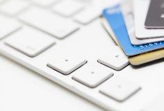 Elektroniczna bankowość Zdjęcie Stock
