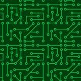 elektroniczna bezszwowa tekstura Obraz Stock