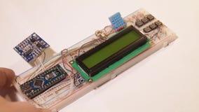 Elektroniczna deska i sprzęt elektroniczny dla DIY zbiory wideo