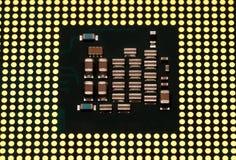 Elektroniczna kolekcja - Komputerowa jednostka centralna c (Środkowa Przerobowa jednostka) Zdjęcie Royalty Free