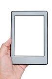 Elektroniczna książka zdjęcia royalty free