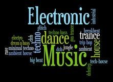 elektroniczna muzyka ilustracji