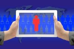 elektroniczna proces rekrutacja obraz royalty free