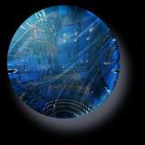 elektroniczna sfera Zdjęcia Royalty Free
