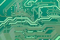 elektroniczna zieleni talerza tekstura Obrazy Royalty Free