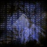 Elektroniczne akcyjne liczby Obraz Stock