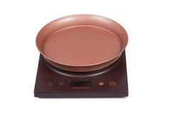 elektroniczne kuchenne skala Zdjęcie Stock