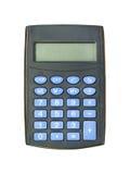 Elektroniczny kalkulator. Odosobniony. Fotografia Royalty Free