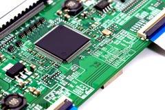Elektronicznego obwodu deska Fotografia Stock