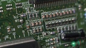 Elektronicznego obwodu układy scaleni zdjęcie wideo