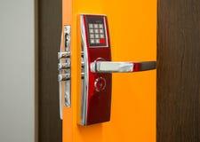 Elektronicznej ochrony drzwiowy kędziorek Obraz Stock