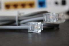 Elektroniczni druty przygotowywający transmitować dane zdjęcia royalty free