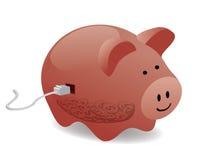 elektroniczni oszczędzania royalty ilustracja