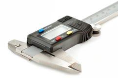 Elektroniczny cyfrowy caliper Zdjęcie Royalty Free