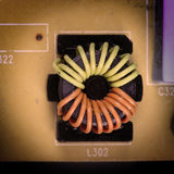 elektroniczny deskowy obwód Fotografia Stock