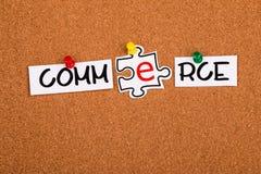 elektroniczny handlu pojęcie Fotografia Royalty Free