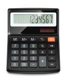 Elektroniczny kalkulator Fotografia Stock