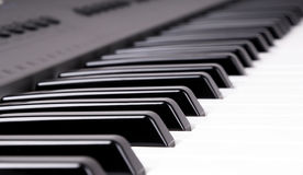 elektroniczny klawiaturowy organ Fotografia Stock
