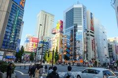 Elektroniczny miasto Tokio Japonia Zdjęcia Stock