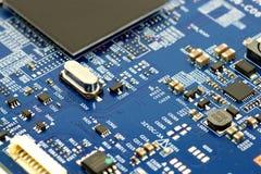 Elektroniczny obwód Fotografia Stock