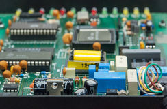 Elektroniczny obwód board1 Fotografia Stock