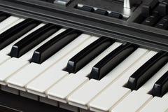 Elektroniczny pianino Fotografia Stock