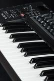 Elektroniczny pianino Obraz Stock