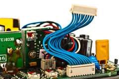 elektroniczny przyrządu inside Zdjęcie Stock