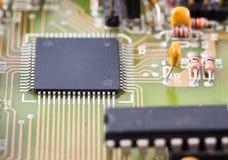 elektroniczny układ scalony deskowy obwód Obrazy Stock