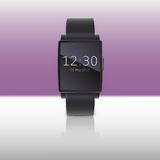 Elektroniczny zegarek, komputerowy interfejs Zdjęcie Royalty Free