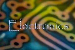 elektronik vektor illustrationer