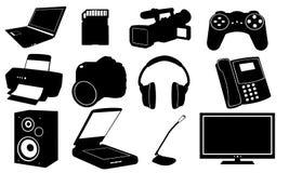 elektronik royaltyfri illustrationer
