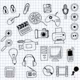 Elektronik lizenzfreie abbildung