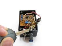 Elektronik Lizenzfreies Stockbild