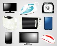 Elektronik-Ansammlung stock abbildung