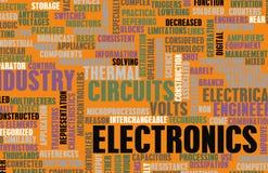 Elektronik-Industrie vektor abbildung