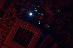 Elektronik-Ingenieur von Computer-CPU-Technologie Lizenzfreies Stockbild