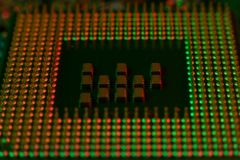 Elektronik-Ingenieur von Computer-CPU-Technologie Stockfotos