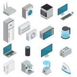 Elektronik-isometrischer Satz lizenzfreie abbildung