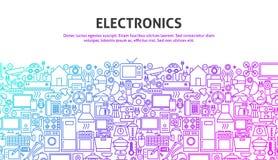 Elektronik-Netz-Konzept Stockbild